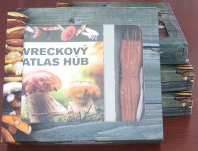 Obrázok Vreckový atlas húb + hubársky nôž