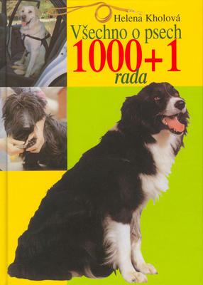 Obrázok Všechno o psech 1000 + 1 rada