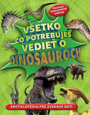 Obrázok Všetko čo potrebuješ vedieť o dinosauroch