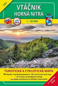 Obrázok Vtáčnik Horná Nitra 1:50 000