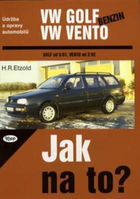 Obrázok VW Golf benzín od 9/91, Vento od 2/92