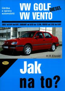 Obrázok VW Golf diesel od 9/91 do 8/97, Variant od 9/93 do 12/98, Vento od 29/2 do 8/97