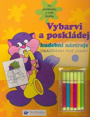 Obrázok Vybarvi a poskládej hudební nástroje