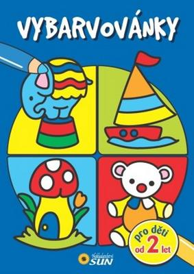 Obrázok Vybarvovánky  pro děti od 2 let modré