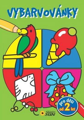Obrázok Vybarvovánky  pro děti od 2 let zelené