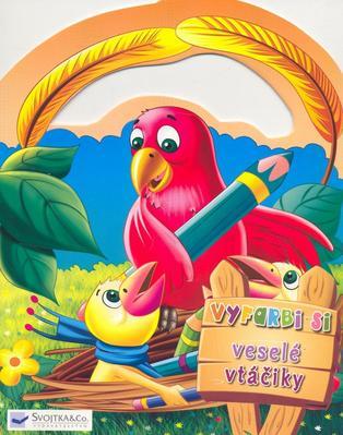 Vyfarbi si veselé vtáčiky