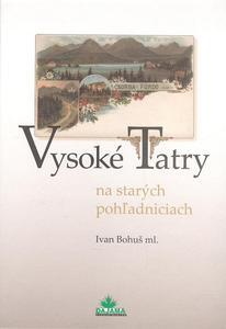 Obrázok Vysoké Tatry na starých pohľadniciach