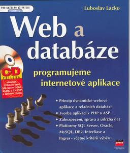 Obrázok Web a databáze + CD ROM