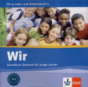 Obrázok Wir 1 K učebnici a pracovnímu sešitu Wir 1 (Audio CD)