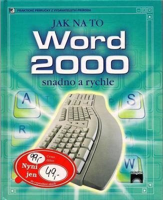 Obrázok Word 2000 snadno a rychle