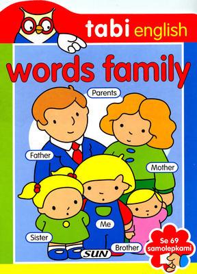 Words Family 69 samolepek