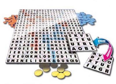 Obrázok Word, slovní labyrint