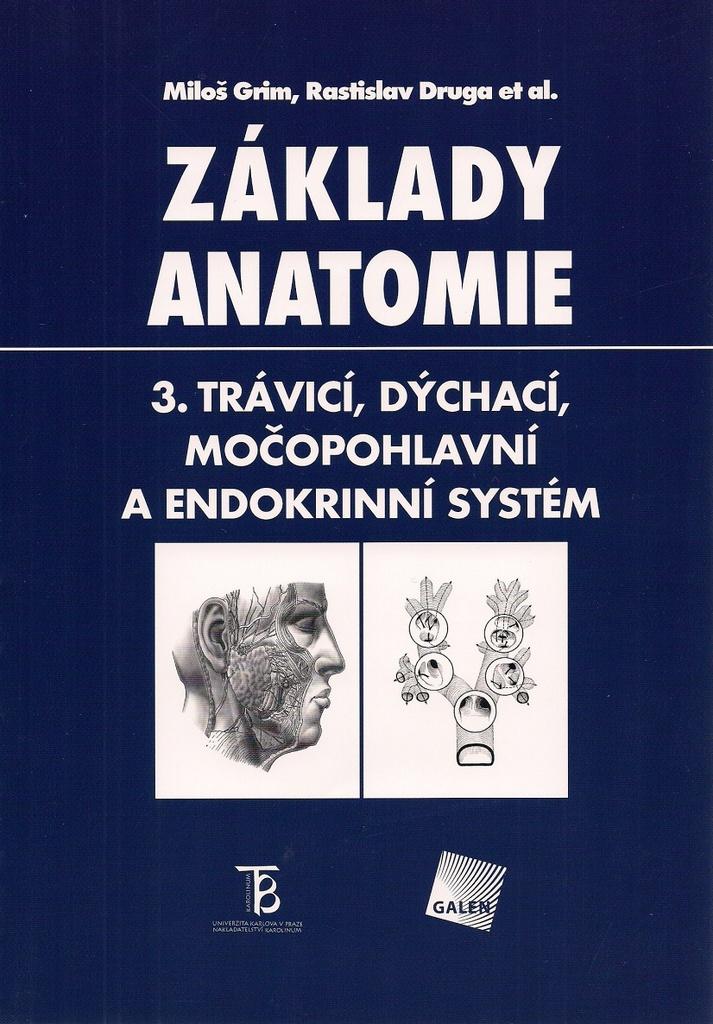Základy anatomie 3. - Rastislav Druga, Miloš Grim