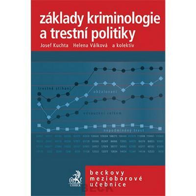 Obrázok Základy kriminologie a trestní politiky