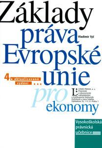 Obrázok Základy práva EU pro ekonomy