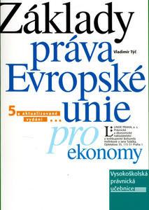 Obrázok Základy práva Evropské unie pro ekonomy
