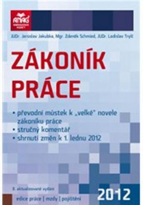 Obrázok Zákoník práce 2012
