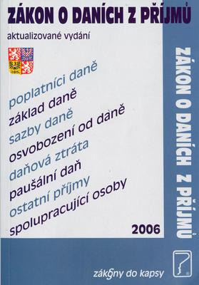 Zákon o daních z příjmu 2006