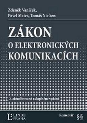 Obrázok Zákon o elektronických komunikacích Komentář