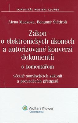 Obrázok Zákon o elektronických úkonech a autorizované konverzi dokumentů