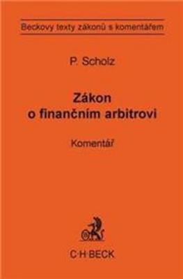 Zákon o finančním arbitrovi Komentář