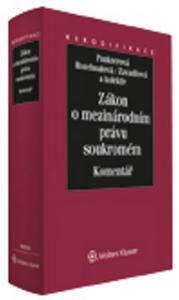 Obrázok Zákon o mezinárodním právu soukromém Komentář