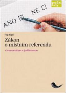 Obrázok Zákon o místním referendu s komentářem a judikaturou
