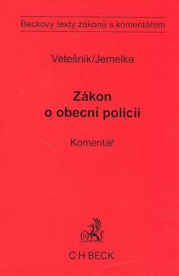 Obrázok Zákon o obecní policii a předpisy související. Komentář