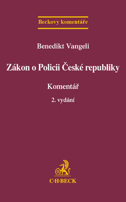 Obrázok Zákon o Policii České republiky Komentář