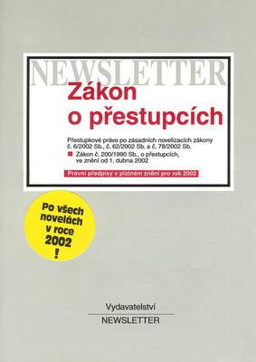Obrázok Zákon o přestupcích 2002