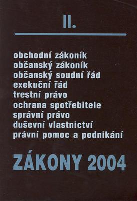 Obrázok Zákony 2004/II