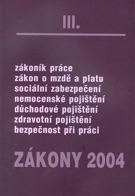 Obrázok Zákony 2004/III