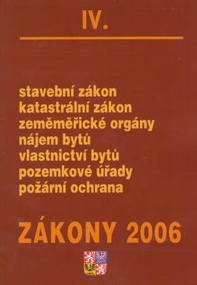Zákony 2006/IV