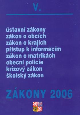 Zákony 2006/V