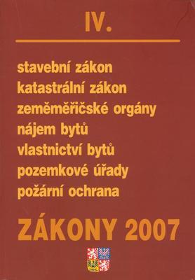 Obrázok Zákony 2007/IV
