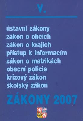 Obrázok Zákony 2007/V