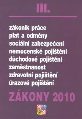 Obrázok Zákony 2010 III.