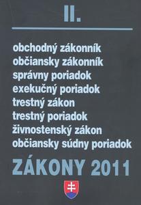 Obrázok Zákony 2011 II.