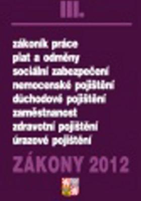 Obrázok Zákony 2012 III.