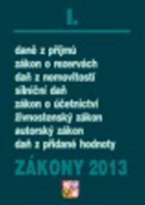 Obrázok Zákony 2013 I.