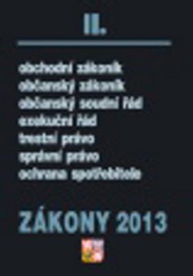 Obrázok Zákony 2013 II.