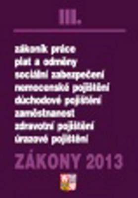 Obrázok Zákony 2013 III.