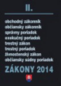 Obrázok Zákony 2014 II.
