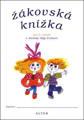 Obrázok Žákovská knížka pro 3. ročník s obrázky Olgy Čechové