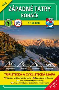 Obrázok Západné Tatry Roháče 1:50 000