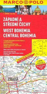 Obrázok Západní a střední Čechy 1:200 000