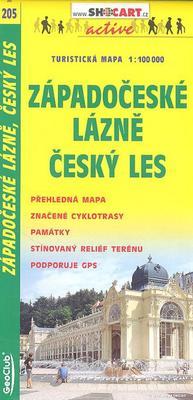 Obrázok Západní lázně Český les 1:100T