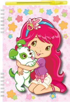 Obrázok Zápisník s 3D efektem A5 Strawberry