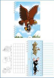 Obrázok Zápisník s 3D efektem A6 Krtek