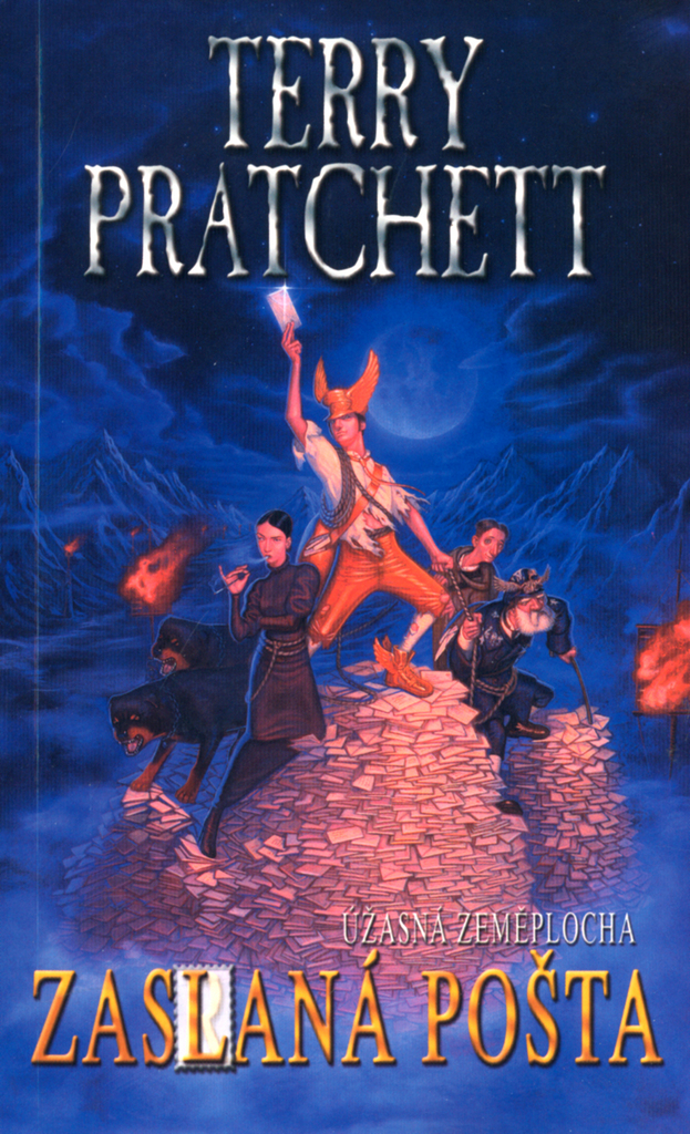 Zaslaná pošta - Terry Pratchett